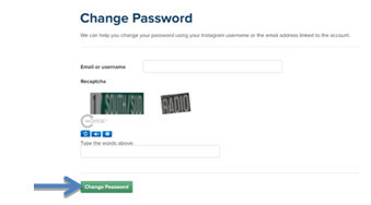 change password button