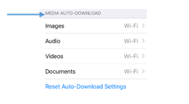 media auto – download